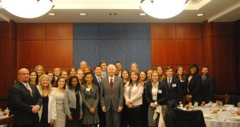 STENNIS CENTER HOSTS SMA ON CAPITOL HILL
